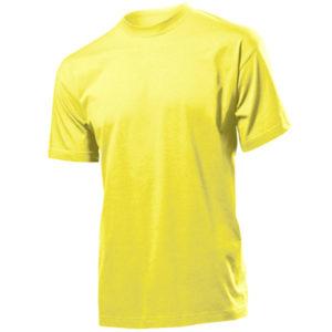 Stedman-ST2000-Miesten-T-Paita-Yellow