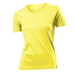 Stedman-ST2600-Naisten-T-Paita-Yellow
