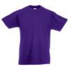 Fruit-of-the-Loom-Kids-Valueweight-Lasten-T-Paita-purple