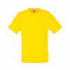 Fruit-of-the-Loom-Valueweight-Miesten-T-Paita-Painatus-Yellow