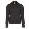 B&C-Women-Full-Zip-Hooded-Sweatshirt-Naisten-Vetoketjullinen-Huppari-Black-musta