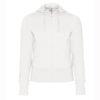 B&C-Women-Full-Zip-Hooded-Sweatshirt-Naisten-Vetoketjullinen-Huppari-White-valkoinen