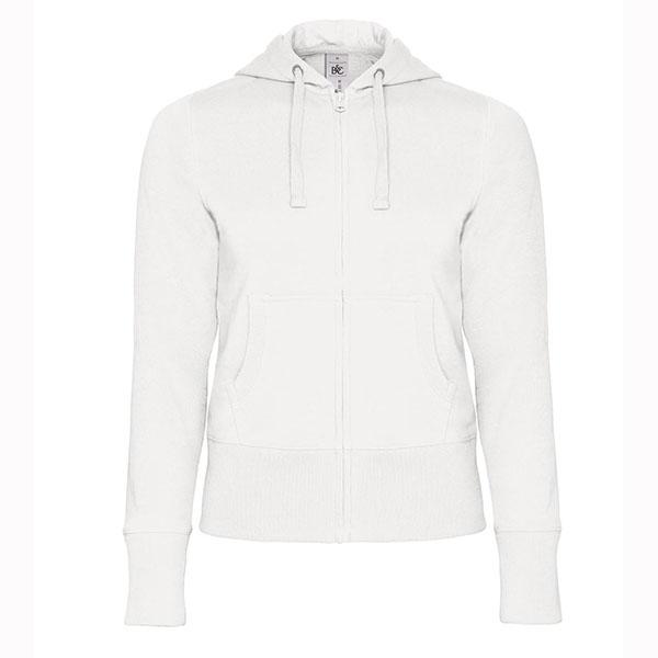 B C Women Full Zip Hooded Sweatshirt - Naisten Vetoketjullinen ... 843e759f20