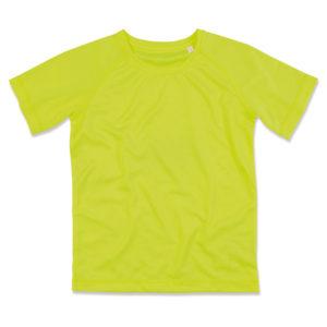 Stedman-ST8410-Miesten-Tekninen-T-paita-Cyber-Yellow-Keltainen