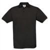 B&C-Fine-Pique-Polo-miesten-pikeepaita-Black-musta