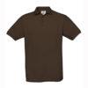 B&C-Fine-Pique-Polo-miesten-pikeepaita-Brown-ruskea