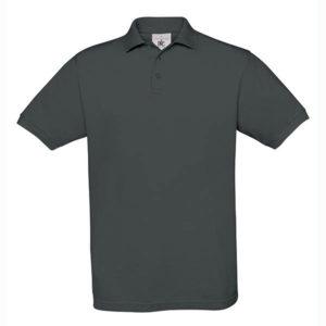 B&C-Fine-Pique-Polo-miesten-pikeepaita-DarkGrey-tummanharmaa