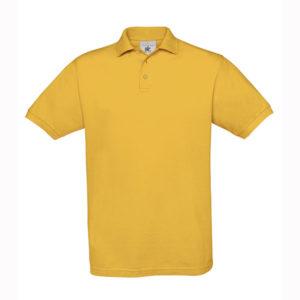 B&C-Fine-Pique-Polo-miesten-pikeepaita-Gold-kultakeltainen