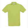 B&C-Fine-Pique-Polo-miesten-pikeepaita-Pistachio-vihreä