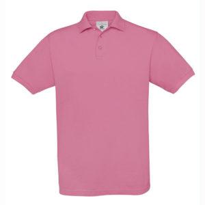 B&C-Fine-Pique-Polo-miesten-pikeepaita-PixelPink-pinkki