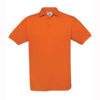 B&C-Fine-Pique-Polo-miesten-pikeepaita-PumpkinOrange-oranssi