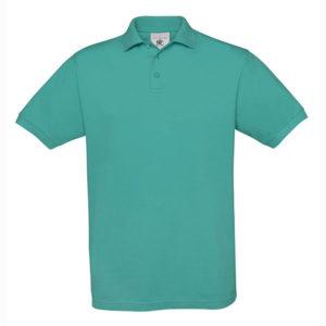 B&C-Fine-Pique-Polo-miesten-pikeepaita-Turquoise-turkoosi