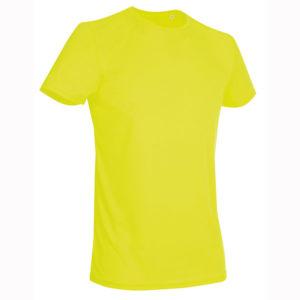 Stedman-ST8000-miesten-tekninen-t-paita-Cyber-Yellow