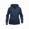 clique-basic-hoody-full-zip-ladies-naisten-vetoketjullinen-huppari-dark-navy