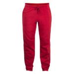 clique-basic-pants-collegehousut-punainen