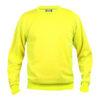 clique-basic-roundneck-collegepaita-visibility-yellow