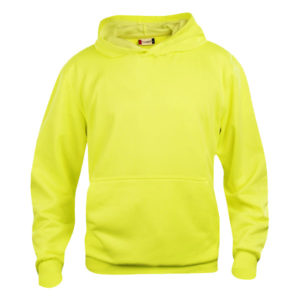 clique-basic-hoody-junior-lasten-huppari-huomiova%cc%88rinen-keltainen