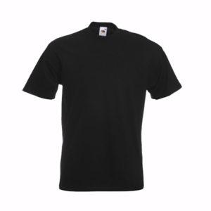 fruit-of-the-loom-super-premium-tee-miesten-puuvilla-t-paita-black