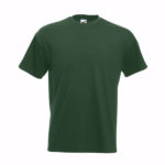 fruit-of-the-loom-super-premium-tee-miesten-puuvilla-t-paita-bottle-green
