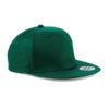 beechfield-5-panel-snapback-rapper-cap-bottle-green
