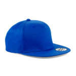 beechfield-5-panel-snapback-rapper-cap-bright-royal