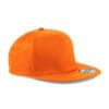 beechfield-5-panel-snapback-rapper-cap-orange