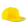 beechfield-5-panel-snapback-rapper-cap-yellow