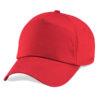 beechfield-junior-original-5-panel-cap-bright-red