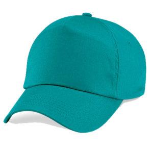 beechfield-junior-original-5-panel-cap-emerald
