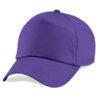 beechfield-junior-original-5-panel-cap-purple
