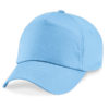 beechfield-junior-original-5-panel-cap-sky-blue