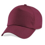 beechfield-original-5-panel-cap-burgundy