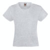 fruit-of-the-loom-girls-valueweight-t-tytto%cc%88jen-puuvilla-t-paita-heather-grey