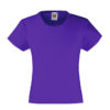 fruit-of-the-loom-girls-valueweight-t-tytto%cc%88jen-puuvilla-t-paita-purple