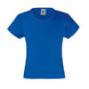 fruit-of-the-loom-girls-valueweight-t-tytto%cc%88jen-puuvilla-t-paita-royal-blue