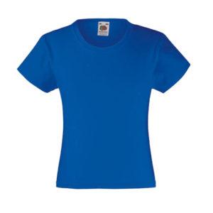 fruit-of-the-loom-girls-valueweight-t-tytto%cc%88jen-puuvilla-t-paita-royal-blue