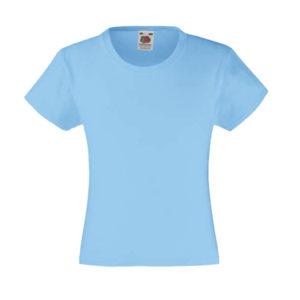 fruit-of-the-loom-girls-valueweight-t-tytto%cc%88jen-puuvilla-t-paita-sky-blue