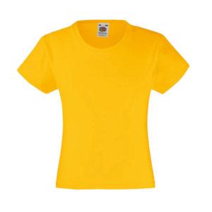 fruit-of-the-loom-girls-valueweight-t-tytto%cc%88jen-puuvilla-t-paita-sunflower