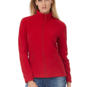 B&C Ladies Micro Fleece Full Zip–Naisten Fleece takki-lifestyle