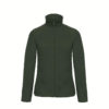 B&C-Ladies-Micro-Fleece-Full-Zip-Naisten-Fleece-Takki-forest-green