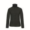 B&C-Ladies-Micro-Fleece-Full-Zip-Naisten-Fleece-Takki-musta