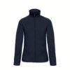 B&C-Ladies-Micro-Fleece-Full-Zip-Naisten-Fleece-Takki-navy