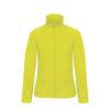 B&C-Ladies-Micro-Fleece-Full-Zip-Naisten-Fleece-Takki-pixel-lime