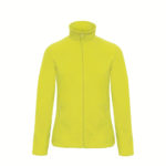 B&C-Ladies-Micro-Fleece-Full-Zip-Naisten-Fleece-Takki-pixel-lime