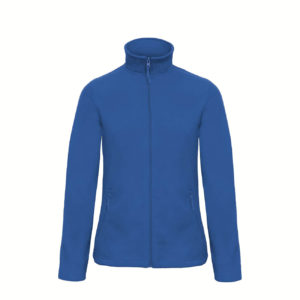 B&C-Ladies-Micro-Fleece-Full-Zip-Naisten-Fleece-Takki-royal-blue