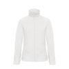 B&C-Ladies-Micro-Fleece-Full-Zip-Naisten-Fleece-Takki-valkoinen