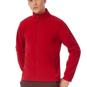 B&C Micro Fleece Full Zip – Miesten Fleece takki-lifestyle