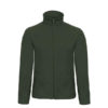 B&C-Micro-Fleece-Full-Zip-miesten-fleece-takki-forest-green