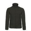 B&C-Micro-Fleece-Full-Zip-miesten-fleece-takki-musta