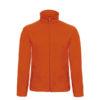 B&C-Micro-Fleece-Full-Zip-miesten-fleece-takki-oranssi